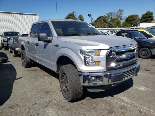 Salvage cars for sale from Copart Vallejo, CA: 2015 Ford F150 Super