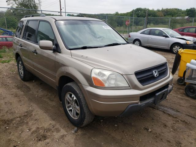 Salvage cars for sale from Copart Madison, WI: 2005 Honda Pilot EX