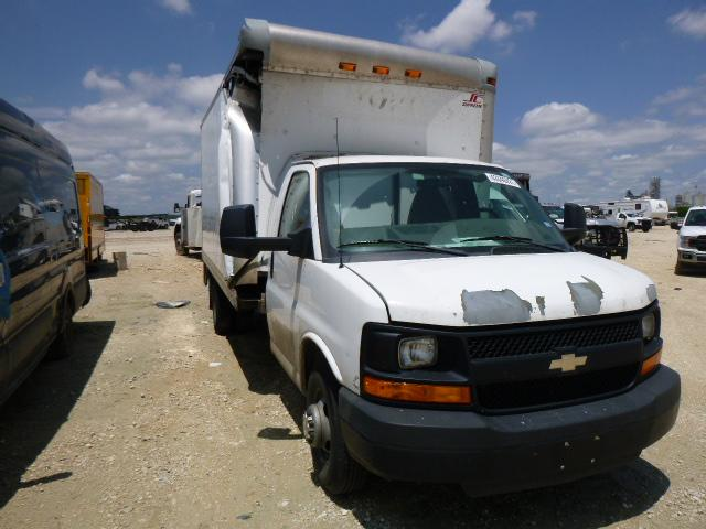 Chevrolet Express salvage cars for sale: 2011 Chevrolet Express