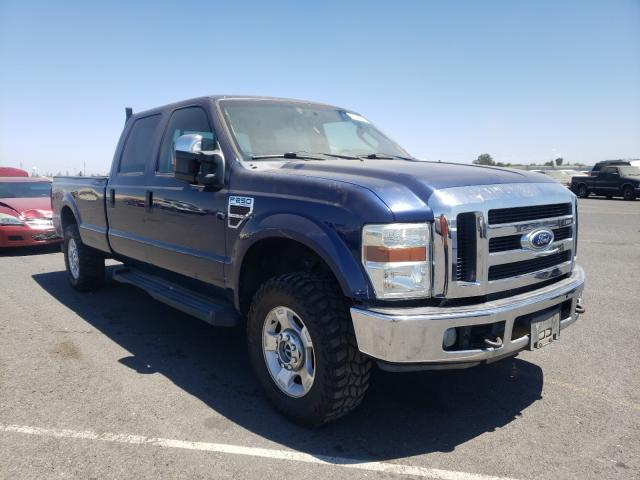 Salvage cars for sale from Copart Sacramento, CA: 2008 Ford F250 Super
