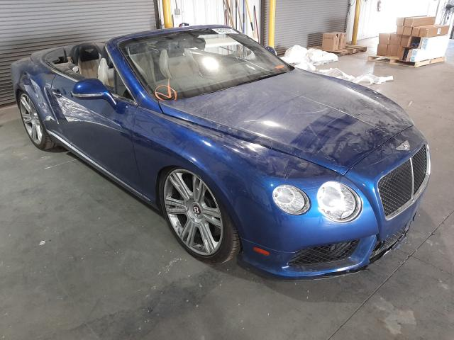 Bentley Continental salvage cars for sale: 2013 Bentley Continental