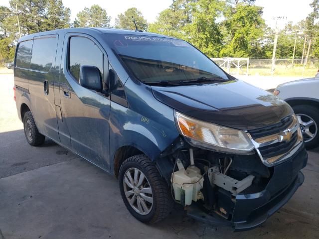 Salvage trucks for sale at Gaston, SC auction: 2015 Chevrolet City Expre