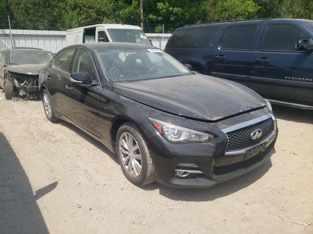 Salvage cars for sale from Copart Glassboro, NJ: 2016 Infiniti Q50 Base