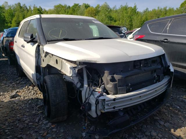 Salvage cars for sale from Copart Duryea, PA: 2018 Ford Explorer