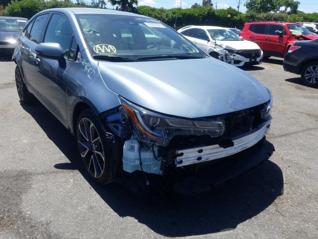 Salvage cars for sale from Copart San Martin, CA: 2020 Toyota Corolla SE