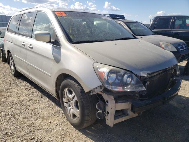 Salvage cars for sale from Copart Anderson, CA: 2006 Honda Odyssey EX