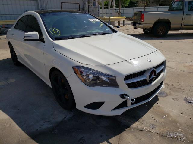 Salvage cars for sale from Copart Corpus Christi, TX: 2016 Mercedes-Benz CLA 250