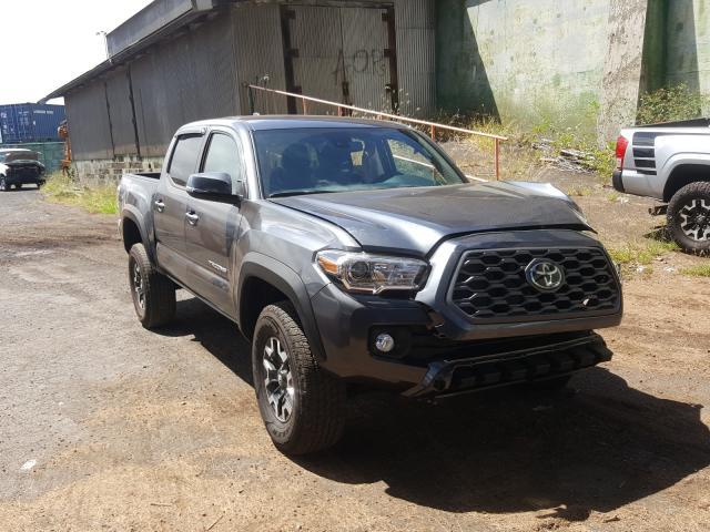 Vehiculos salvage en venta de Copart Kapolei, HI: 2021 Toyota Tacoma DOU