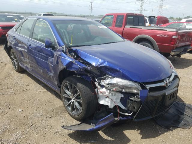 Salvage cars for sale from Copart Elgin, IL: 2015 Toyota Camry LE