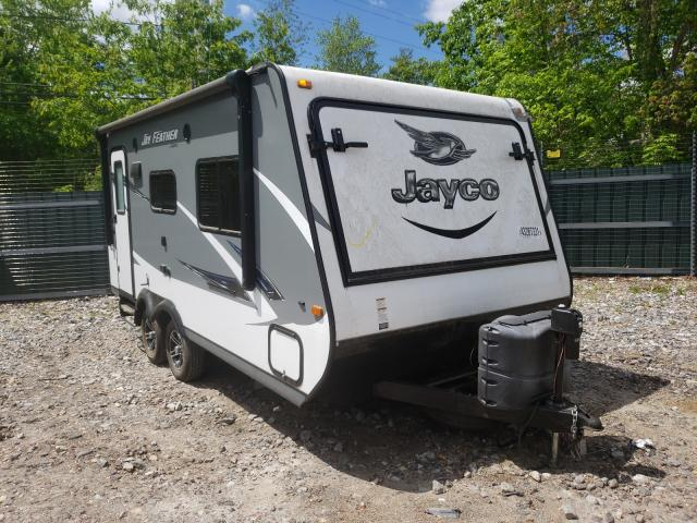 Salvage trucks for sale at Candia, NH auction: 2016 Jayco Travel Trailer