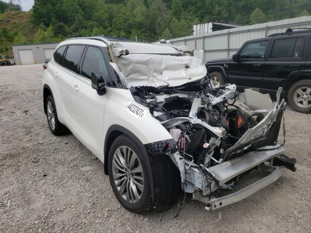 Salvage cars for sale from Copart Hurricane, WV: 2020 Toyota Highlander