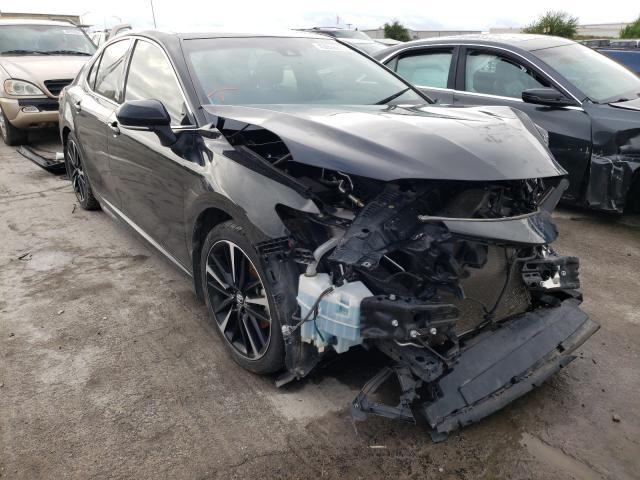 Salvage cars for sale at Tulsa, OK auction: 2018 Toyota Camry XSE