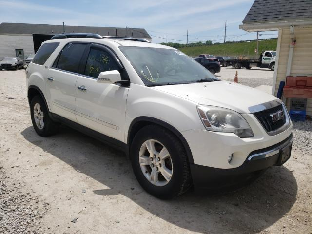 Salvage cars for sale from Copart Northfield, OH: 2009 GMC Acadia SLT