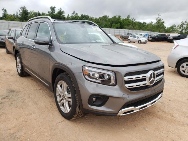 Salvage cars for sale from Copart Oklahoma City, OK: 2020 Mercedes-Benz GLB 250 4M