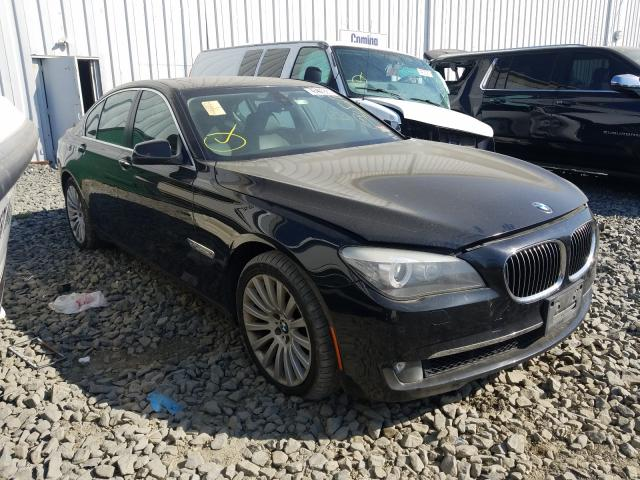 Salvage cars for sale from Copart Windsor, NJ: 2012 BMW Alpina B7