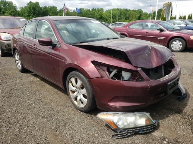 Salvage cars for sale from Copart East Granby, CT: 2009 Honda Accord EXL