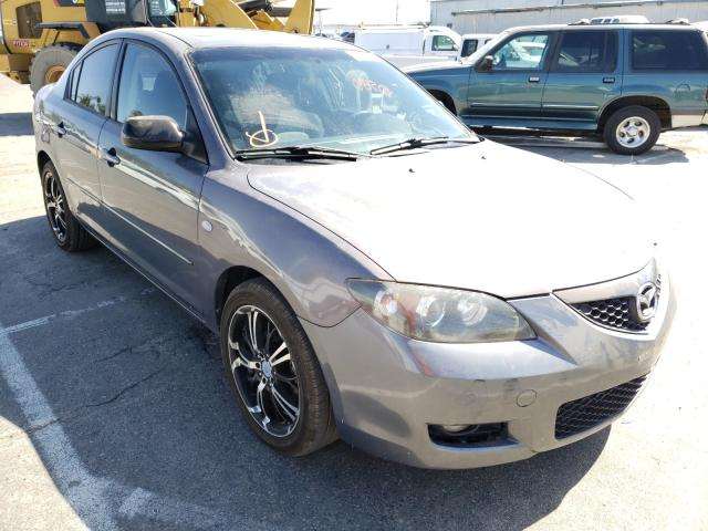 Salvage cars for sale from Copart Fresno, CA: 2008 Mazda 3 I