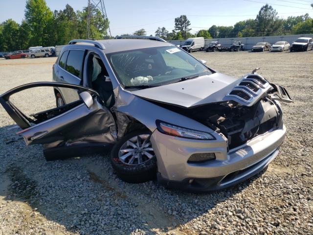 Jeep Cherokee salvage cars for sale: 2016 Jeep Cherokee
