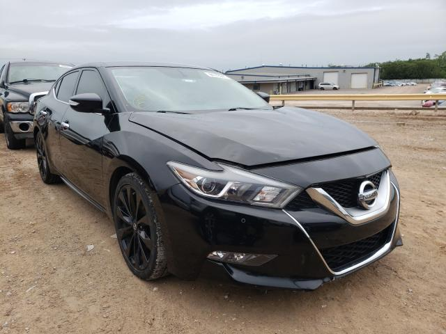 Salvage cars for sale from Copart Oklahoma City, OK: 2017 Nissan Maxima 3.5