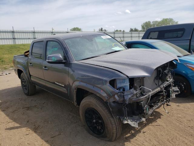 Salvage cars for sale from Copart Portland, MI: 2020 Toyota Tacoma