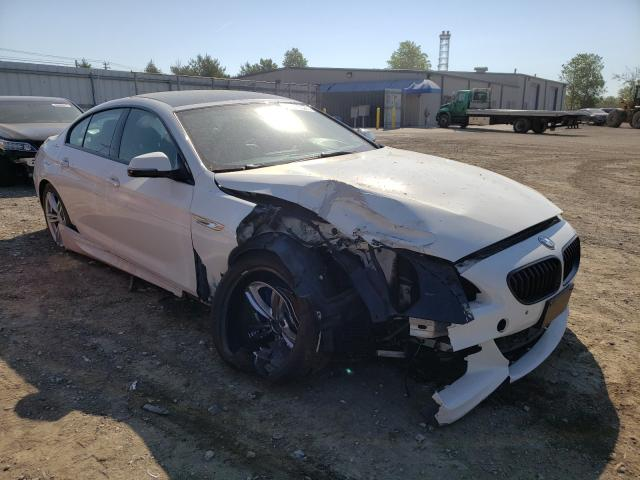 Salvage cars for sale from Copart Finksburg, MD: 2016 BMW 650 XI GRA