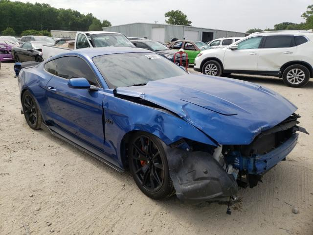 Salvage cars for sale from Copart Hampton, VA: 2017 Ford Mustang GT