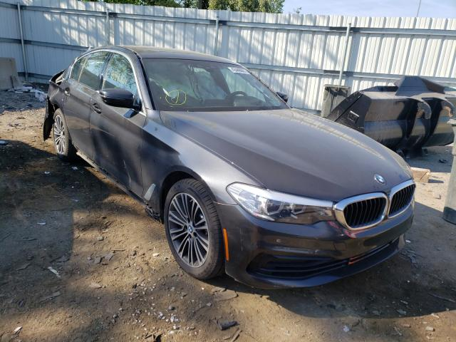 Salvage cars for sale from Copart West Mifflin, PA: 2020 BMW 530 XI