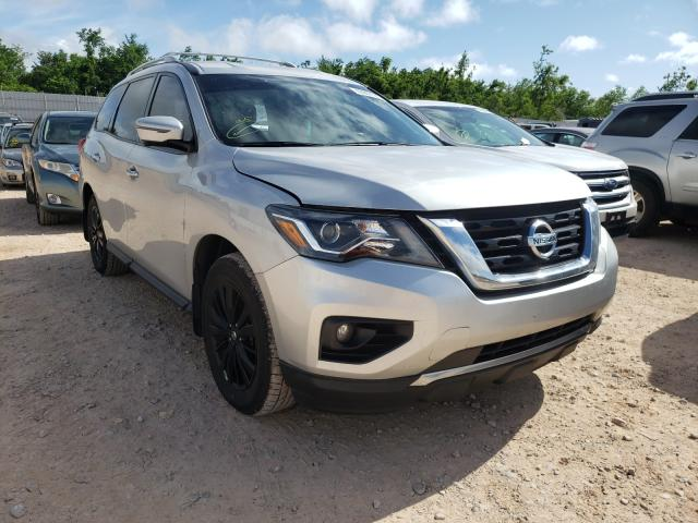 Salvage cars for sale from Copart Oklahoma City, OK: 2018 Nissan Pathfinder