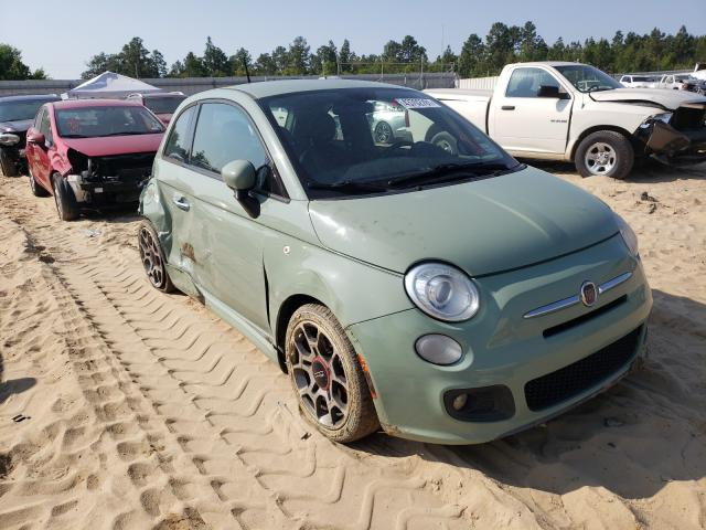 Fiat salvage cars for sale: 2014 Fiat 500 Sport