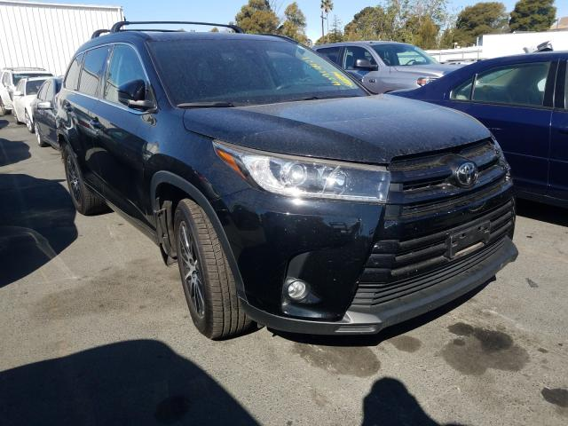 Salvage cars for sale from Copart Vallejo, CA: 2017 Toyota Highlander