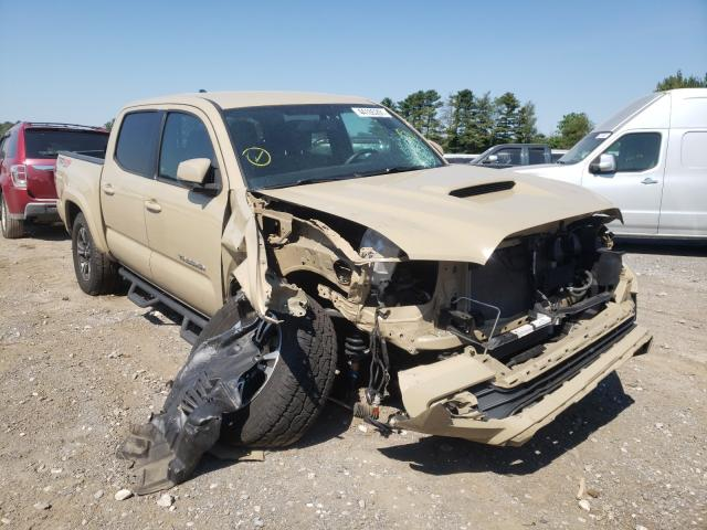 Salvage cars for sale from Copart Finksburg, MD: 2016 Toyota Tacoma DOU