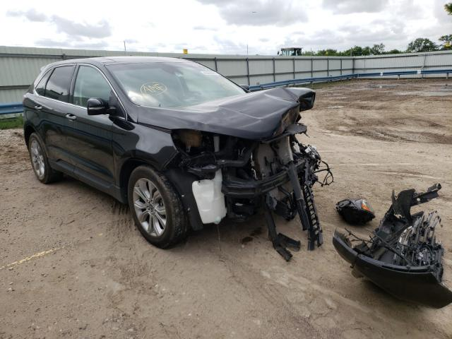 Salvage cars for sale from Copart Wichita, KS: 2019 Ford Edge