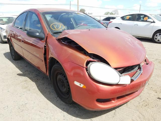 Plymouth salvage cars for sale: 2001 Plymouth Neon Base
