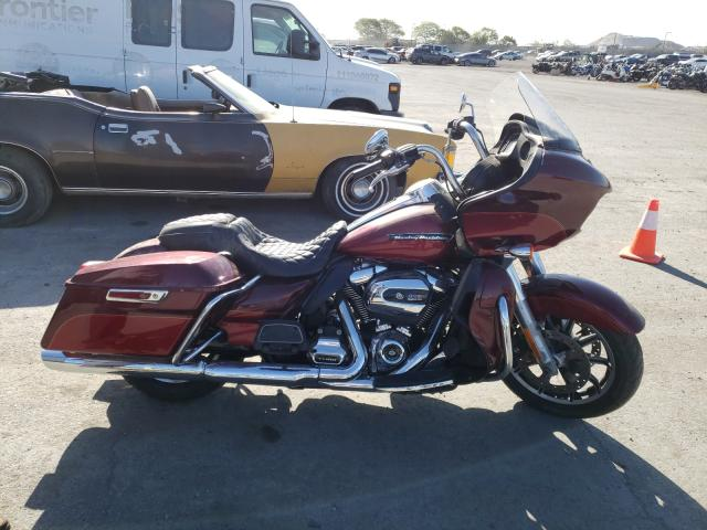Salvage cars for sale from Copart San Diego, CA: 2017 Harley-Davidson Fltru
