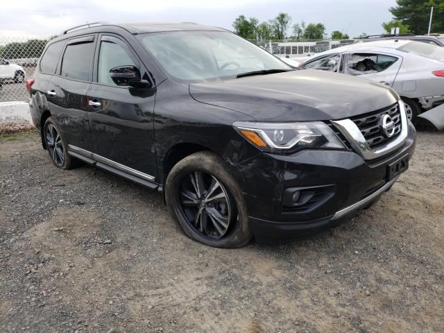 Salvage cars for sale from Copart East Granby, CT: 2018 Nissan Pathfinder