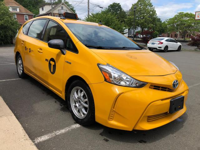 Salvage cars for sale from Copart New Britain, CT: 2015 Toyota Prius V