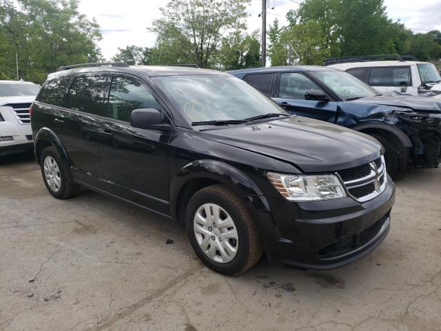 Salvage cars for sale from Copart Marlboro, NY: 2018 Dodge Journey SE