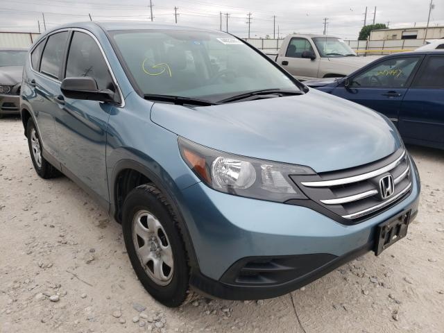 Salvage cars for sale from Copart Haslet, TX: 2014 Honda CR-V LX