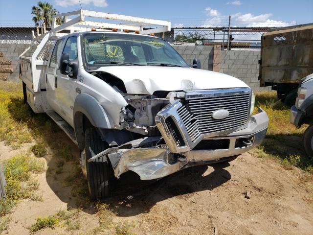 Salvage cars for sale from Copart Los Angeles, CA: 2007 Ford F450 Super