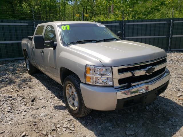 Salvage trucks for sale at Candia, NH auction: 2007 Chevrolet Silverado