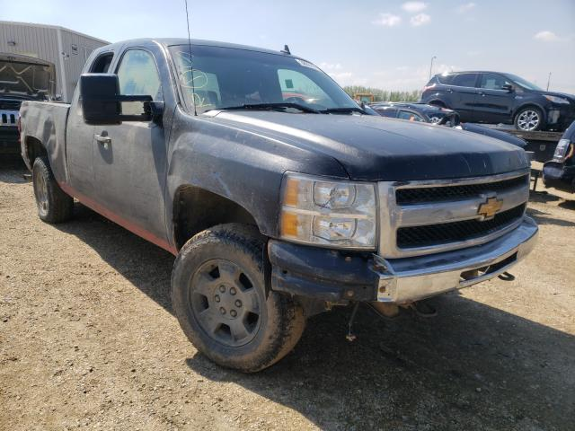 Salvage cars for sale from Copart Nisku, AB: 2013 Chevrolet Silverado