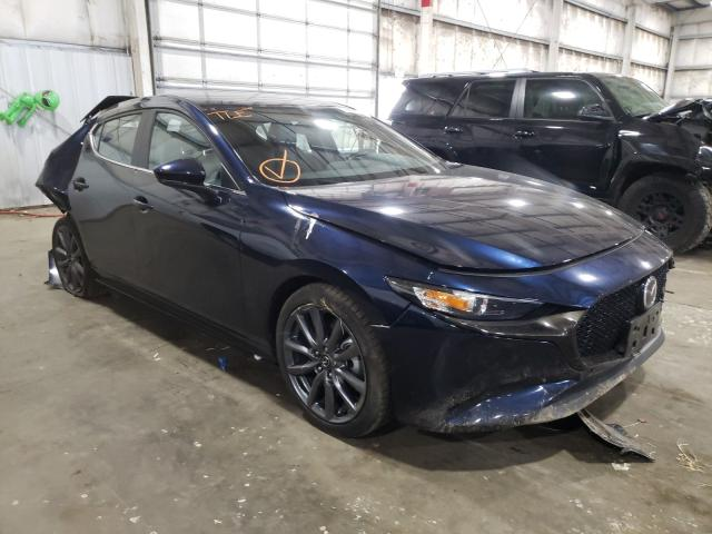 Salvage cars for sale from Copart Woodburn, OR: 2019 Mazda 3 Preferre