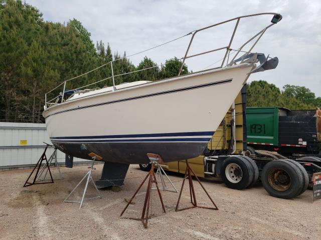 Salvage boats for sale at Charles City, VA auction: 1987 Pear 28' Sail
