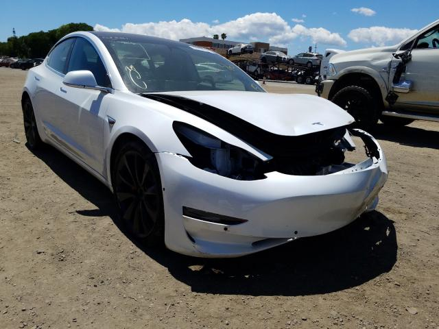 Salvage cars for sale from Copart San Martin, CA: 2020 Tesla Model 3