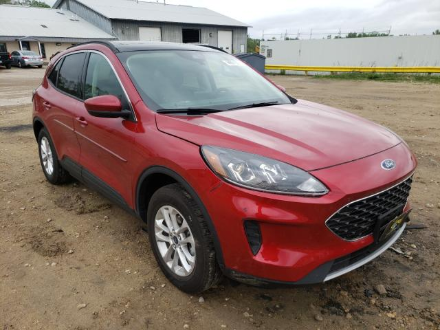 Salvage cars for sale from Copart Madison, WI: 2020 Ford Escape SE