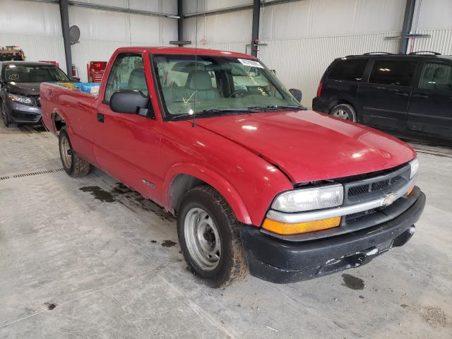 Salvage cars for sale from Copart Greenwood, NE: 1998 Chevrolet S Truck S1