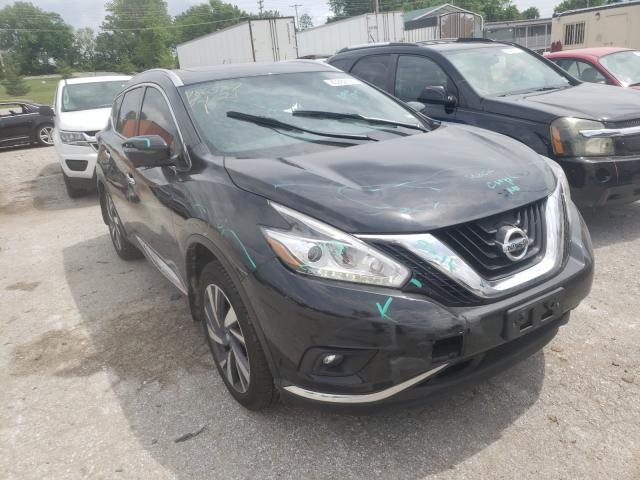Salvage cars for sale from Copart Bridgeton, MO: 2016 Nissan Murano S