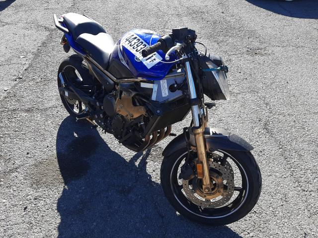 Salvage cars for sale from Copart Las Vegas, NV: 2013 Yamaha FZ6 RC