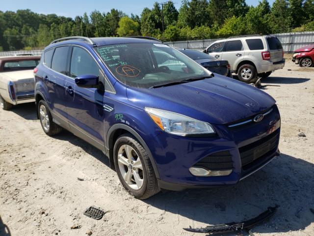 Salvage cars for sale from Copart Hampton, VA: 2014 Ford Escape SE