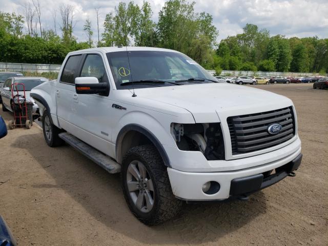 Salvage cars for sale from Copart Davison, MI: 2011 Ford F150 Super